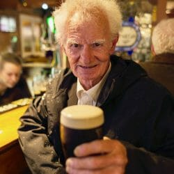 Killarglin Ireland photo tour Brenda Tharp man in pub