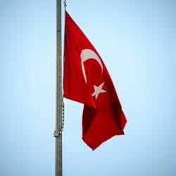 Turkey photo tour David Tejada flag