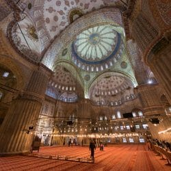 Istanbul Turkey photo tour David Tejada inside mosque