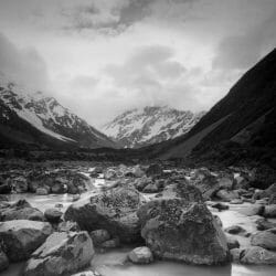 Hooker River New Zealand photo tour Ron Rosenstock