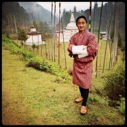 Chorten Bhutan photo tour Karen Schulman