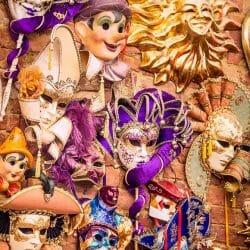Italy masks photo tour Charles Needle