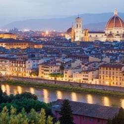 Florence skyline photo tour Italy Charles Needle