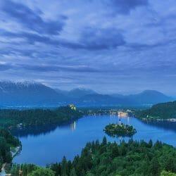 Lake Bled Slovenia photo tour overlook