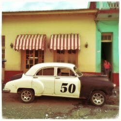 Antique Car Cuba Karen Schulman photo tour