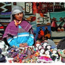 Artista at the Mercado Ecuador photo tour Karen Schulman