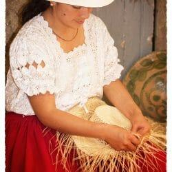 Panama Hats, Homero Ortega Factory Ecuador photo tour Karen Schulman