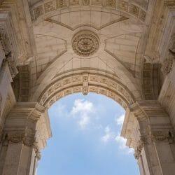 Arch Lisbon Portugal