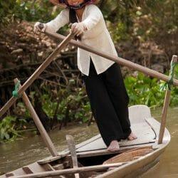 fishing boat Mekong Delta