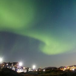 Greenland photo tour northern lights Ron Rosenstock
