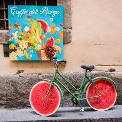 Tuscany photo tour bicycle Italy Charles Needle