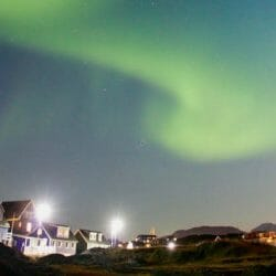 Nuuk Greenland photo tour northern lights Ron Rosenstoc Banner