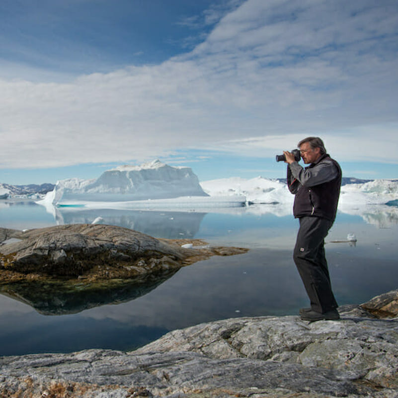 Greenland photo tour Ron Rosenstock