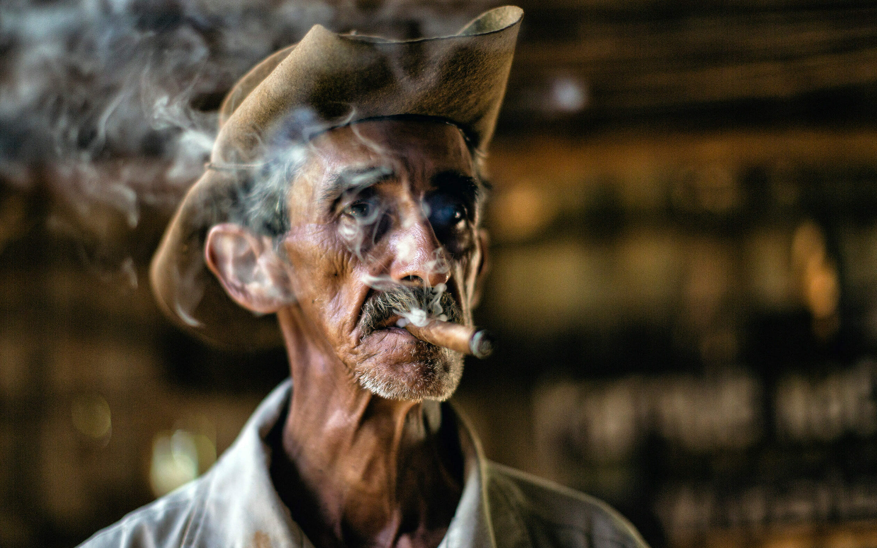 Cuba tobacco farmer Terry Scussel photo tour
