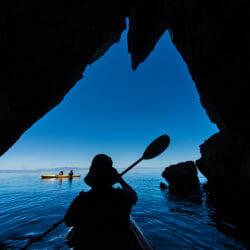 Baja and Sea of Cortez Mexico photo tour Tom Bol kayak