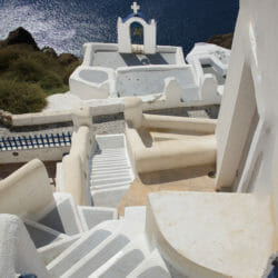 Oia Santorini Greece steps photo tour Ron Rosenstock