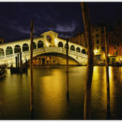 Rialto Bridge Venice Italy photo tour Ron Rosenstock