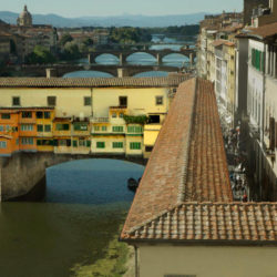 Ponte Vecchio Bridge Florence Italy photo tour Ron Rosenstock