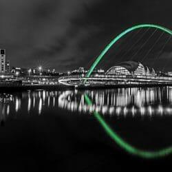Newcastle-night-bridge