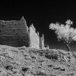 Morocco infrared kasbah photo tour Betty Sederquist