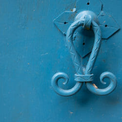 Morocco blue door photo tour Betty Sederquist