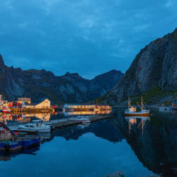Hamnoy Harbor Norway Kathy Adams Clark photo tour