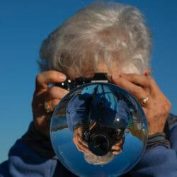 Photographer crystal ball Norway Kathy Adams Clark