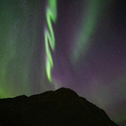 Aurora bolt Norway Kathy Adams Clark photo tour