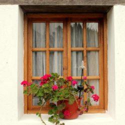 Villa Doris window Nono Ecuador Lorena Tapia de Morillo