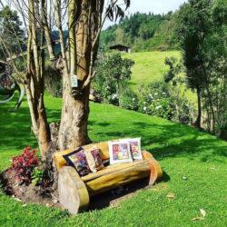 Villa Doris garden photo tour Nono Ecuador Lorena Tapia