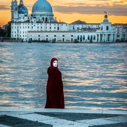 Venice Italy masked photo tour Charles Needle