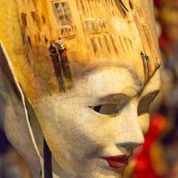 Venice Italy mask photo tour Charles Needle