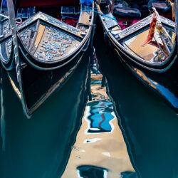 Gondolas Venice Italy photo tour Charles Needle